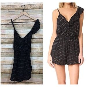 Free People One Of These Days Romper - Black - M